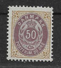 Denmark. 50 øre bi color. MH. (ref 021)