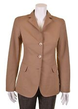 Luciano Barbera ITALY Ribbed Seersucker Cotton Womens Blazer Jacket Suit Coat 6