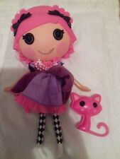 Lalaloopsy Confetti Carnivale  Doll With Pet Cat- VGC