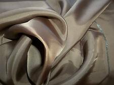 Bemberg Lining Fabric 100% Rayon Sewing Silk Wool Anti-Static Light Brown $18/y