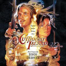 CUTTHROAT ISLAND John Debney 2-CD Set LA-LA LAND Soundtrack SCORE Ltd Ed NEW!
