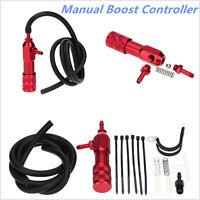 Aluminium Alloy MBC Adjustment Manual Boost Controller Universal Red Polished