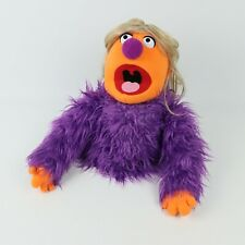 2012 FAO The Muppets x Whatnot Workshop Hand Puppet Ventriloquist Purple Jacket