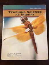 Teaching Science as Inquiry by Carn, Bass, & Contant (2005 10th Ed) Good Book