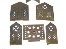 "Antique Coin Bank 1882 Cast Iron ""Villa"" (Church) by Kyser & Rex For Parts"