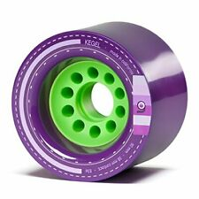 Orangatang Kegel 80 mm 83a Downhill Longboard Skateboard Cruising Wheels Purp...
