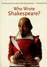Who Wrote Shakespeare?, Paperback by Michell, John F., Like New Used, Free P&...