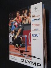 59976 Felix Franz Leichtathletik original signierte Autogrammkarte
