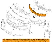 HYUNDAI OEM 15-16 Sonata Front Bumper-Foam Impact Absorber Bar Rebar 86520C2300