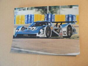 PHOTO FOTO AUDI LE MANS R8R  2001 ? NO 10 RACECAR ?