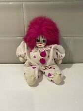Q- tee Clown dolls Handmade with tags