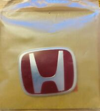 Genuine Honda Civic Type-R EP3 Rear Red H Badge 2001-2006