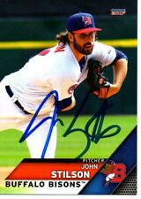 John Stilson 2017 Buffalo Bisons Signed Card
