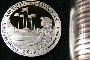 2019-S 25C American Memorial Park DC (Proof) America the Beautiful Quarter