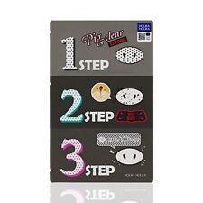 [Holika Holika] Pig Clear Blackhead 3 Step Kit Strong (Nose Pack)