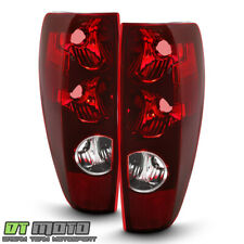 2004-2012 Chevy Colorado Gmc Canyon Tail Lights Lamps Replacement Set Left+Right (Fits: Isuzu)