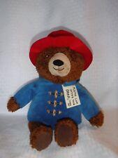"""Kohl's 14"""" Pattington Bear Blue Coat & Red Hat Plush Stuffed Animal"""