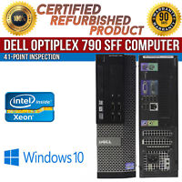Dell OptiPlex 790 SFF Intel i5 4GB RAM 500GB HDD Win 10 USB VGA B Grade Desktop