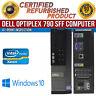Dell OptiPlex 790 SFF Intel i3 8GB RAM 500GB HDD Win 10 USB VGA B Grade Desktop