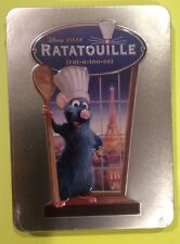 Disney Pixar Ratatouille Real 3D Collectible Tin (DVD)NEW AUTHENTIC DISNEY