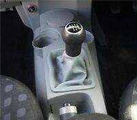 adattarsi VW NEW BEETLE CUFFIA LEVA CAMBIO  PELLE GRIGIO 1998-2009
