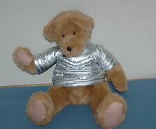 "The Boyds Collection Bear 1988-2005 Retired Stuffed Plush Animal 14"" Jacket"