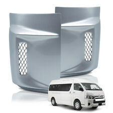 Fits Toyota Hiace Commuter 05 18 Corner Rear Under Tail Lamp Light Cover Silver