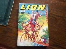 LION 1974 ANNUAL. HARDBACK. OVERALL  CONDITION O.K