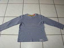 ESPRIT Sweat Shirt 128 134 Pullover Jungen Langarm TSHIRT Pulli grau gestreift