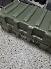 Pelican-Hardigg Mobile Military Surplus Weapons 12 Rifle Gun Hard Case Gc