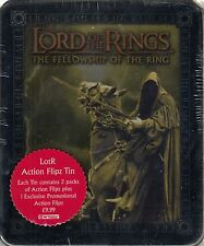 LORD RINGS FELLOWSHIP OF THE RING 2003 COLLECTIBLE ACTION FLIPZ TIN UK WRAITHS