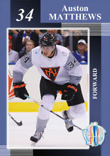 World Cup 2016. North America. Auston Matthews xx/18 Toronto Maple Leafs