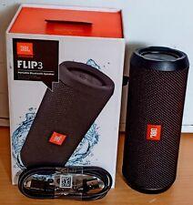 JBL Flip 3 Wireless Bluetooth Portable Travel Stereo Speaker Flip 3 - Black