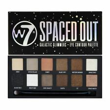 W7 Spaced Out 12pc Galactic Glimmers Eye Colour Palette Eyeshadow new
