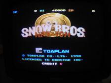 SNOW BROS -- TOAPLAN / BOOT-LEG / WORKING & CLEAN / ARCADE JAMMA PCB  **  619