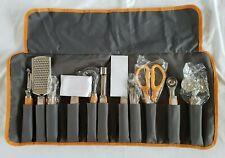 New listing Wolfgang Puck 12 Piece Garnishing Set w/Case