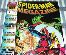 Spider-Man Megazine #1 with 96 Pages of classic Spider-Man Reprints from 1994