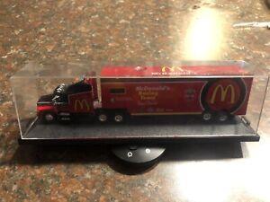 RACING CHAMPIONS LEGENDARY Bill Elliott McDonald's Transport Truck Hauler 1:64