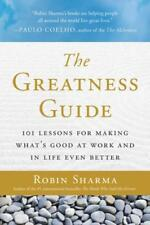 THE GREATNESS GUIDE - SHARMA, ROBIN - NEW PAPERBACK BOOK