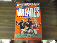 WHEATIES CHAMPIONSHIP QB'S CEREAL BOX -BRETT FAVRE/JOHN ELWAY/STEVE YOUNG