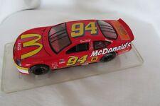 Bill Elliott #94 McDonalds Ford Taurus 1:24 Die Cast in a Plexiglas Display Case
