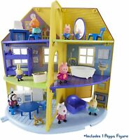 PEPPA / PEPPER PIG - Family Home Large House With Figures Playset NEW / Boxed