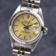 Rolex Lady Date Automatik Edelstahl Damenuhr Datum Ref. 69160 VP: 6250,- €