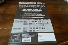 MADONNA - Plan média / Press kit !!! CONFESSIONS ON A DANCE FLOOR !!!