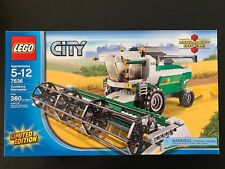 Lego City Farm Set 7636 Combine Harvester New Factory Sealed Limited Edition