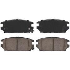 Disc Brake Pad Set Rear Federated D532
