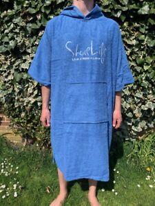Bamboo Poncho Towel ShoreLife Dark Blue Unisex
