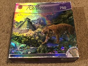 Master Pieces Reflections Clandestine Forest 750 Piece Jigsaw Puzzle