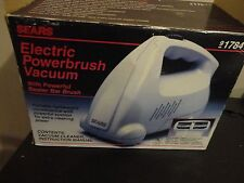 SEARS ELECTRIC POWERBRUSH VACUUM WITH POWERFUL BEATER BAR BRUSH 917841