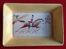 Antique Italian Art Deco Porcelain Bowls Hand Painted Circus Tray 1930 Gio Ponti
